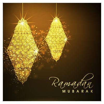 وکتور چهلچراغ و ماه مبارک رمضان