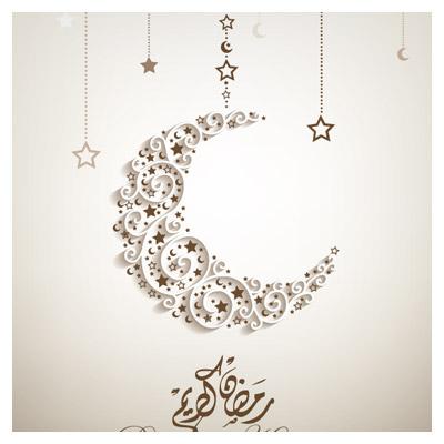 دانلود پس زمینه عید مبارک (ماه رمضان)