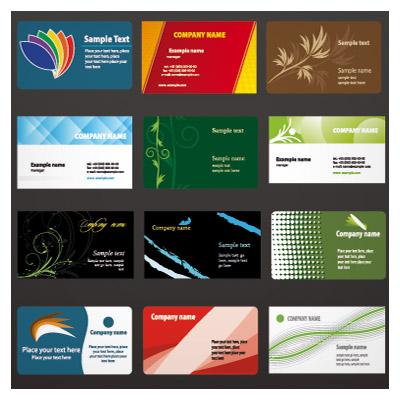 دانلود رایگان مجموعه 36 کارت ویزیت لایه باز