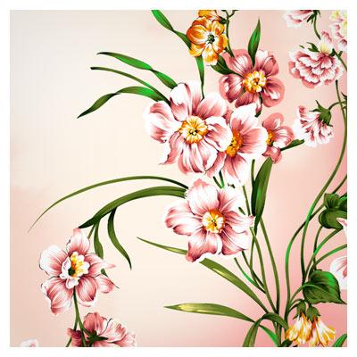 دانلود رایگان گلهای تزئینی زیبا بصورت لایه باز psd