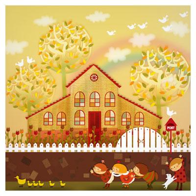 فایل کارتونی بازی و شادی کودکان بصورت لایه باز با فرمت psd