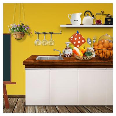 psd آشپزخانه و وسایل آن بصورت لایه باز و با کیفیت بالا