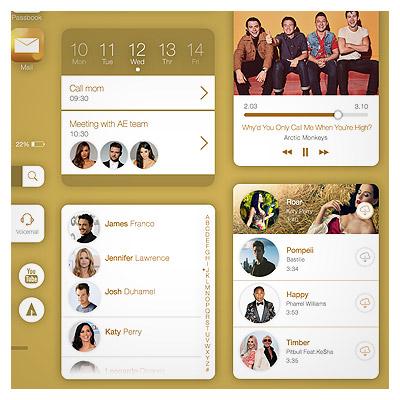 دانلود مجموعه Ui برای طراحی اپ آیفون (IOS)