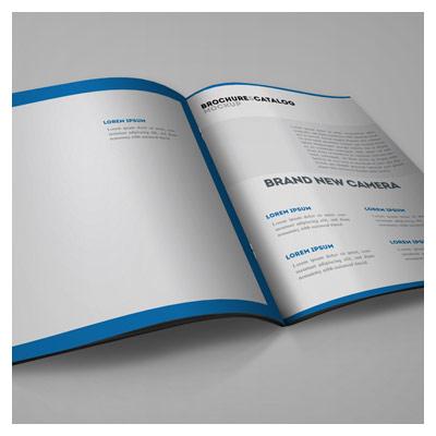 دانلود رایگان موکاپ صفحات داخلی مجله و کتاب بصورت لایه باز