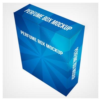 فایل موکاپ جعبه سه بعدی (3d box)