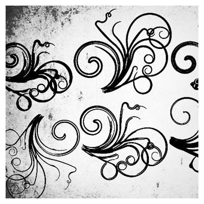 دانلود قلم موی (براش) فلورال (Floral) با کیفیت بالا
