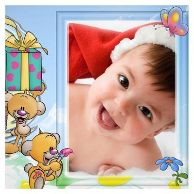 دانلود رایگان قاب PSD لایه باز نوزاد و کودک (کارتونی)