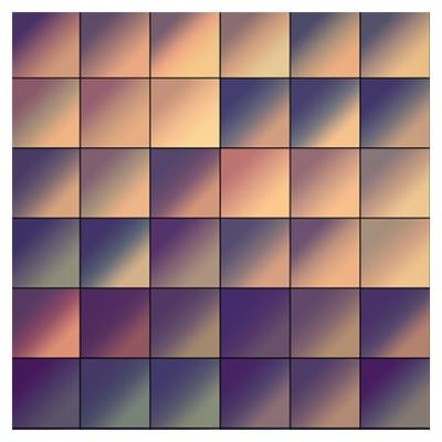 دانلود مجموعه گرادینت با رنگهای طبیعت (گرم) قابل اجرا در فتوشاپ
