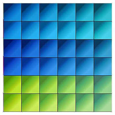 دانلود مجموعه متنوع گرادینت های سبز و آبی