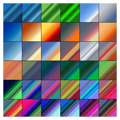 مجموعه ی بیش از 2000 گرادینت متنوع و کاربردی
