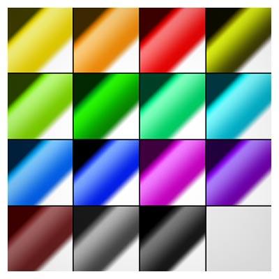 دانلود رایگان فایل گرادینت (تدارج رنگ) فتوشاپ
