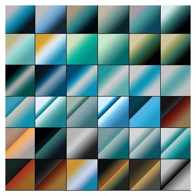 دانلود گرادینت فتوشاپ با موضوع نسیم اقیانوس (تم رنگهای اقیانوس)