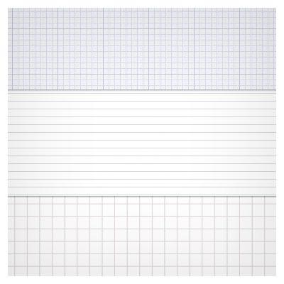 دانلود رایگان پترن های کاغذهای خط دار (Tileable Notepad Patterns)