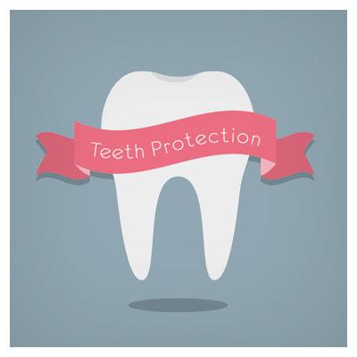 وکتور با موضوع دندان و مراقبت های دندان