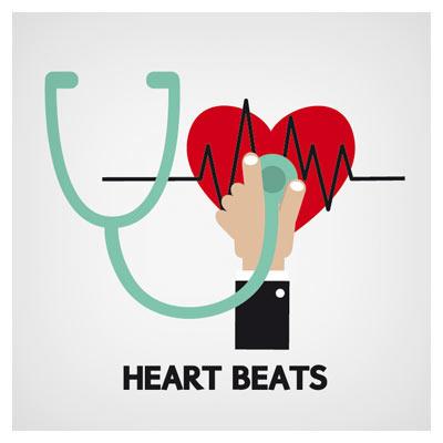 وکتور رایگان معاینه قلب (مراقبت قلب)