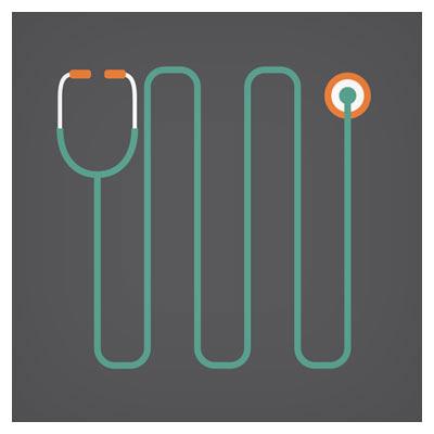 فایل برداری (وکتور) گوشی پزشکی