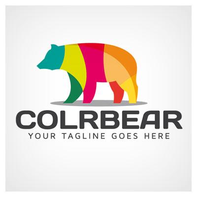 دانلود وکتور لوگوی خرس رنگی (هفت رنگ)