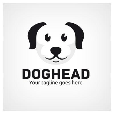 وکتور لایه باز سر سگ (dog head)