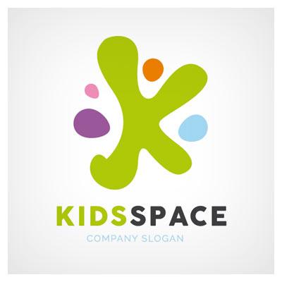 لوگوی آماده و فانتزی بچه های فضایی
