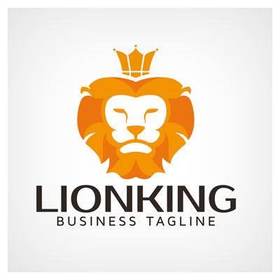 آرم و لوگوی آماده سر شیر جنگل (Lio Logo)