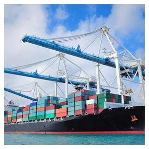 دانلود عکس ترانزیت کالا (کشتی های باربری در بندر)