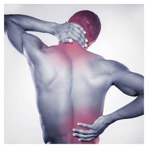 عکس با کیفیت کمر درد و درد در ستون فقرات