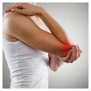 عکس درد در ناحیه آرنج (آرنج درد یا Elbow Pain)