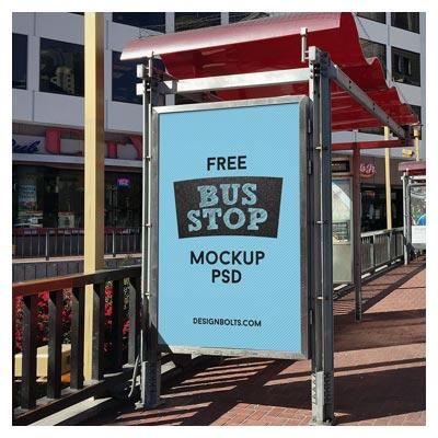 نمایش بنر یا طرح شما بر روی ایستگاه های اتوبوس شهری