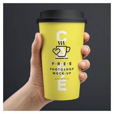 دانلود موکاپ لیوان کافه و قهوه (لیوان کاغذی)