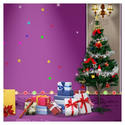 فایل لایه باز با موضوع کریسمس (سال نو میلادی)