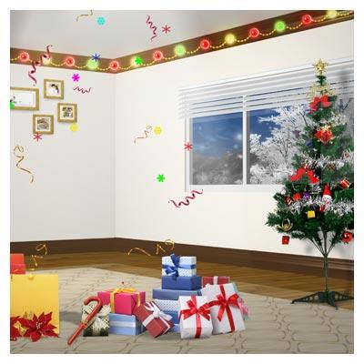 فایل PSD هدایای روز کریسمس (عید کریسمس)