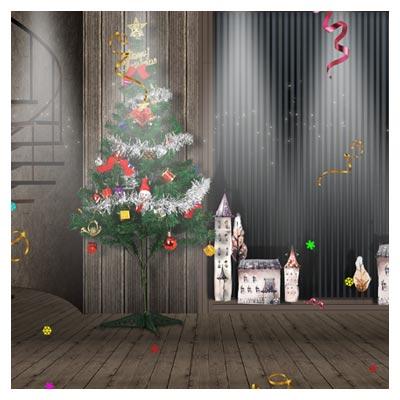 PSD لایه باز عید سال نوی میلادی (عید کریسمس)