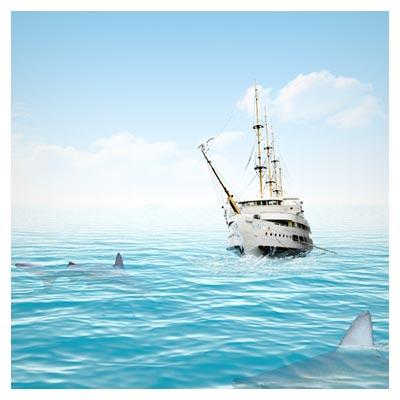 لایه باز PSD دریای مواج (پی اس دی طبیعت)