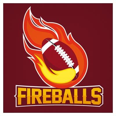 فایل وکتور لوگوی توپ آتشین (Fireball)