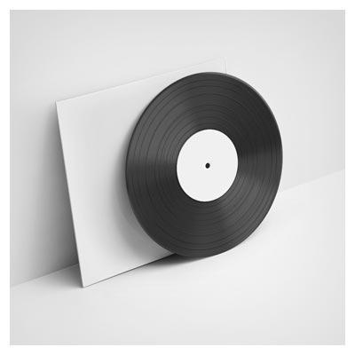 موکاپ کاور سی دی بصورت لایه باز