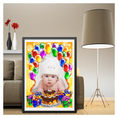 قاب و فریم کودکانه مناسب برای جشن تولد