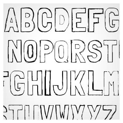 Free Folk solid font