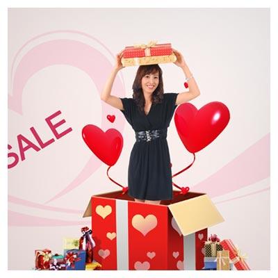 فایل لایه باز psd خرید هدیه (Shopping Free PSD)