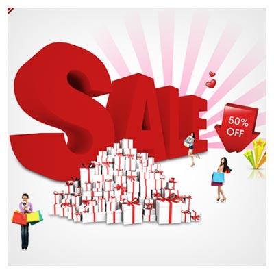 فایل لایه باز Sale و Shopping با فرمت psd