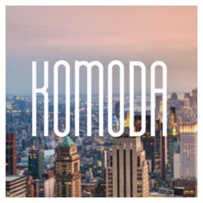 فونت انگلیسی Komoda (رایگان)