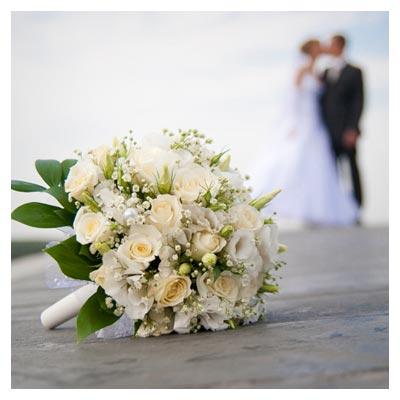 دانلود رایگان عکس با کیفیت دسته گل عروس و داماد