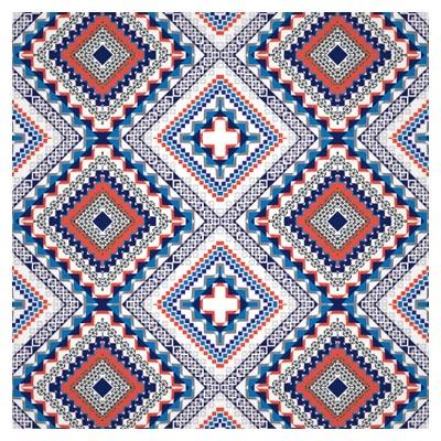وکتور لایه باز پترن بدون مرز بافت های سنتی (Seamless Ethnic Pattern Design Vector)