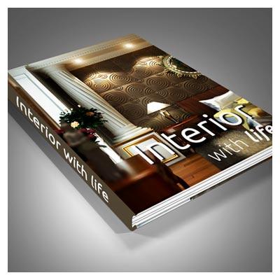 موکاپ جلد سخت کتاب با فرمت PSD لایه باز