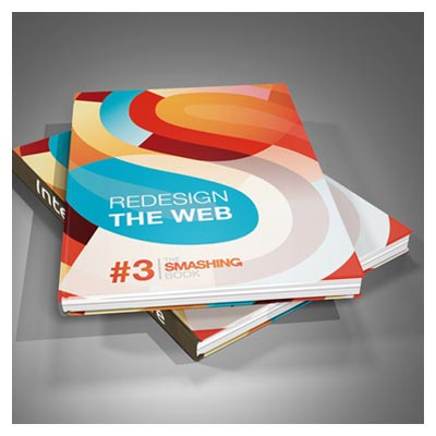 فایل موکاپ جلد سخت کتاب بصورت سه بعدی با فرمت psd