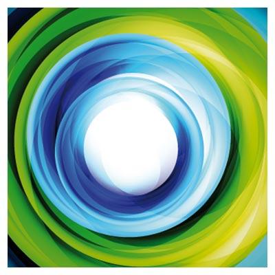 بکگراند وکتوری آبسترکت لایه باز با هاله های رنگی (Colorful  Background)