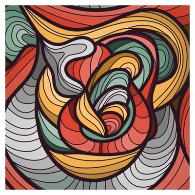 پس زمینه انتزاعی با طرح خاص و فرمت برداری (Exquisite Pattern Background Vector)
