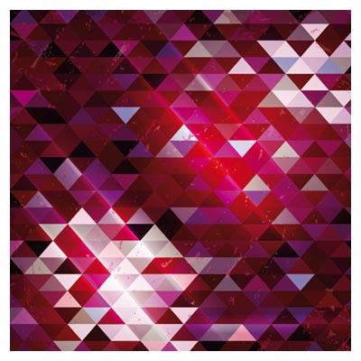 پس زمینه وکتوری مثلث های درخشان نئون (لایه باز)(Trend Color Neon Background)