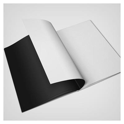 موکاپ یا Mockup نمایش صفحات داخلی مجله