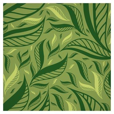 پترن و پس زمینه رایگان برگهای سبز Floral