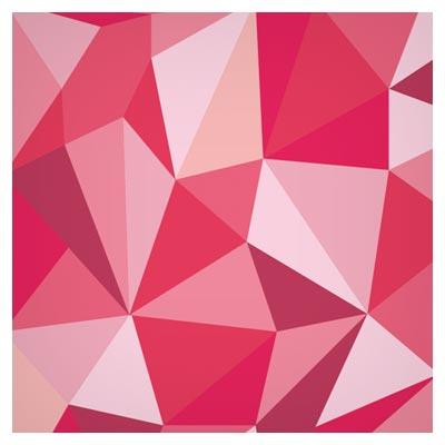 وکتور بکگراند مشبک هندسی با تم رنگی قرمز (Vector Geometric Background)